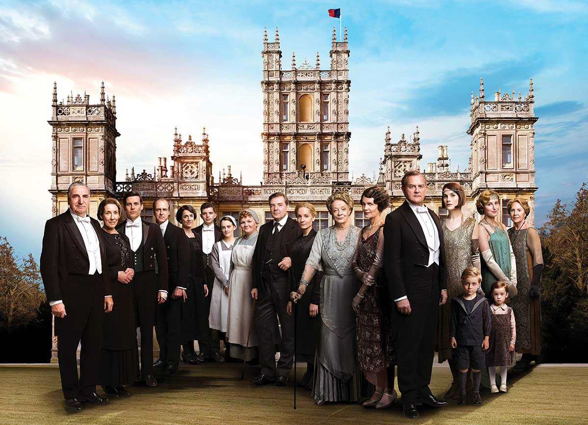 Downton Abbey Movies / Books / TV Jigsaw Puzzle