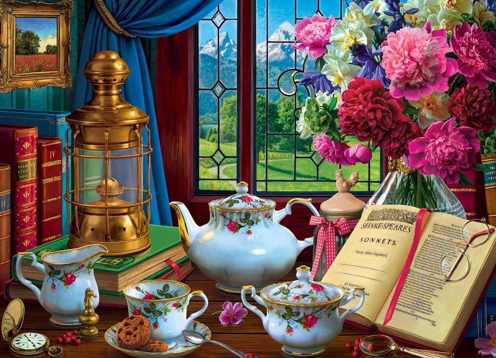 Tea Set Europe Jigsaw Puzzle