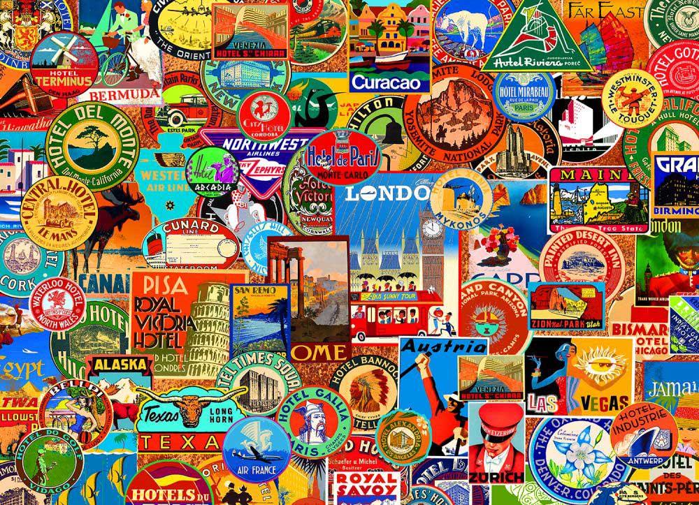 World of Travel Travel Jigsaw Puzzle