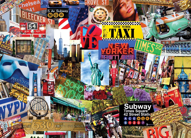 Americana Cities Jigsaw Puzzle