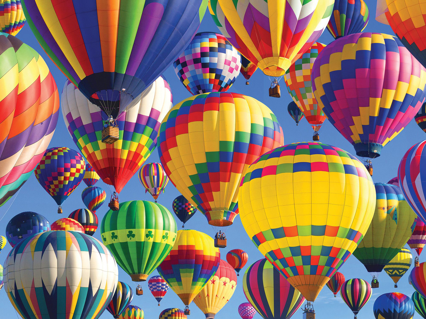 Balloon Ride Balloons Jigsaw Puzzle