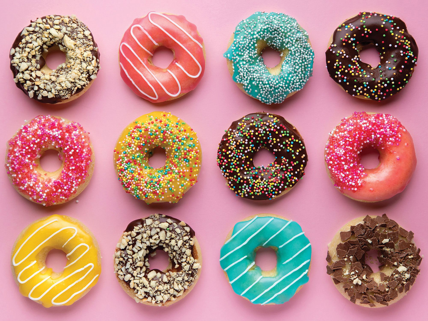 Craving Donuts Food and Drink Jigsaw Puzzle