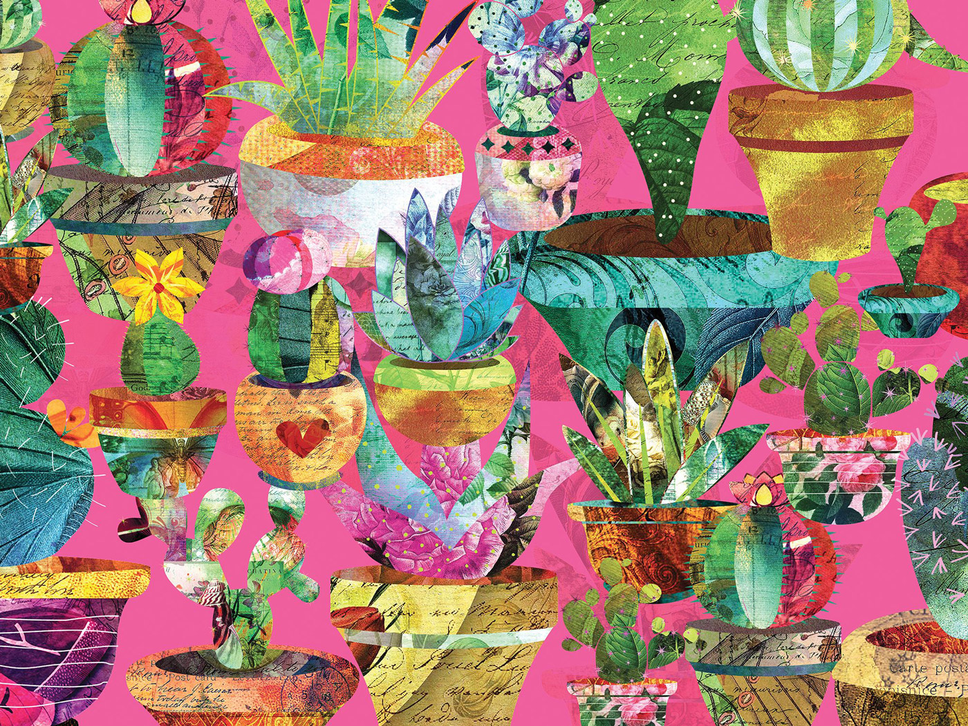 Potted Plants Flowers Jigsaw Puzzle