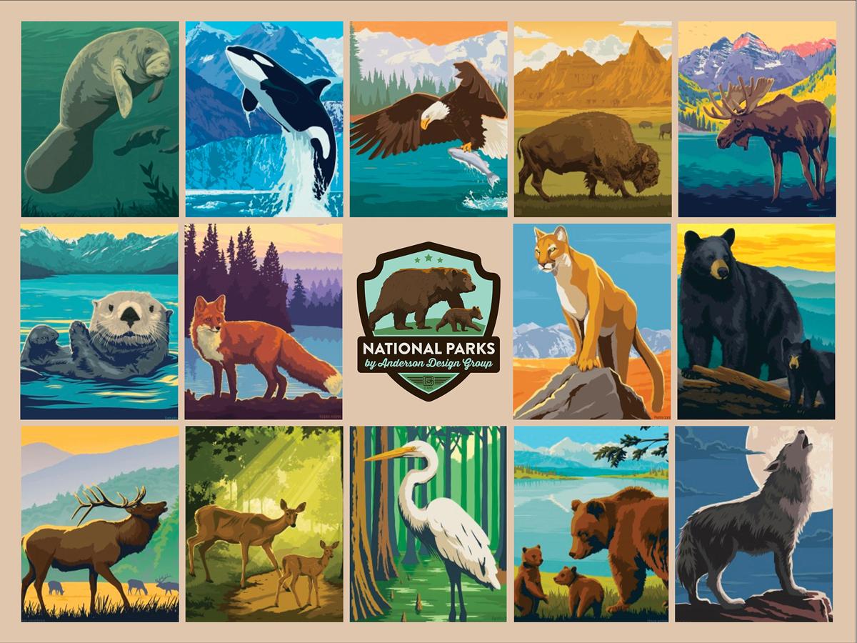 National Parks Wildlife Wildlife Jigsaw Puzzle
