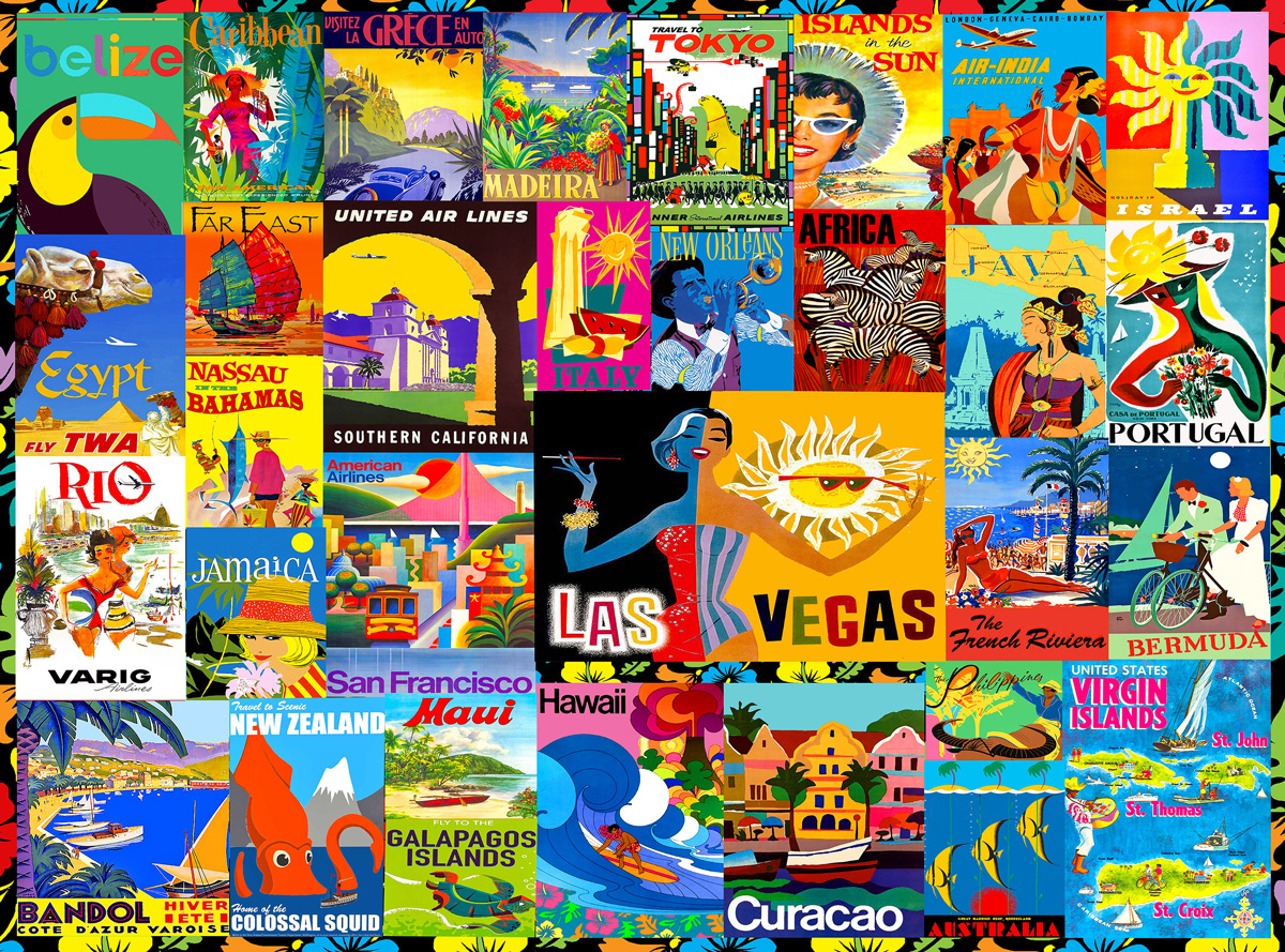 Exotic Travels Travel Jigsaw Puzzle