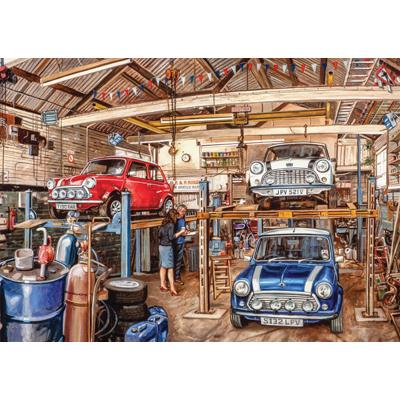 Workshop Dream Cars Jigsaw Puzzle