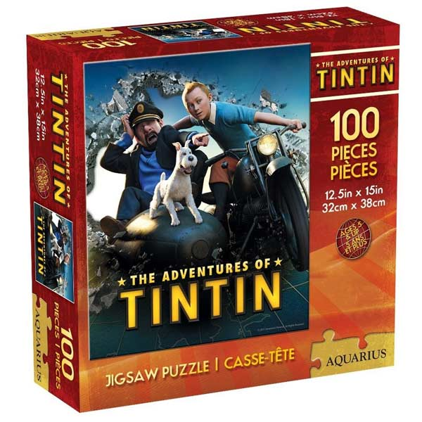 Tintin (100pc) Movies / Books / TV Jigsaw Puzzle