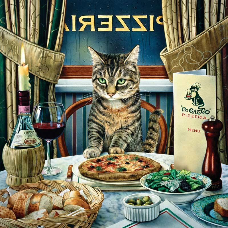 Catology - Luciano Cats Jigsaw Puzzle