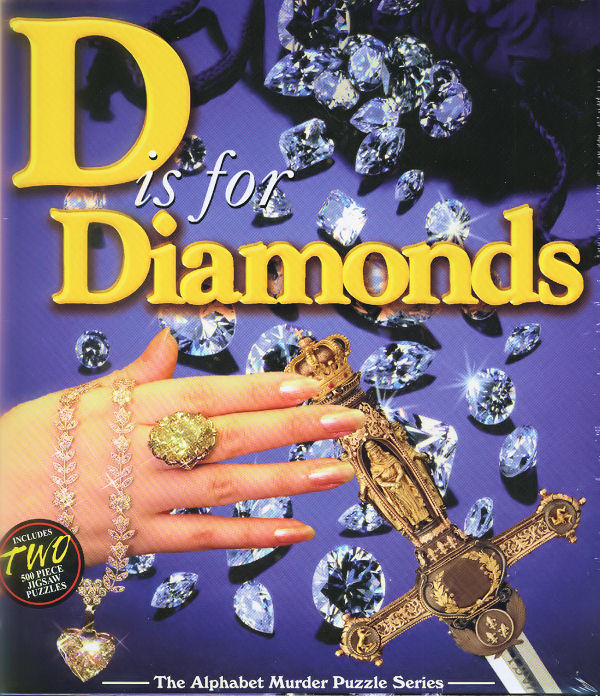 Mystery Puzzle - D is for Diamonds Mystery Jigsaw Puzzle