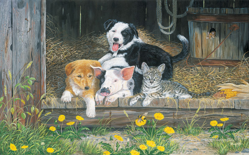 Best of Friends Dogs Jigsaw Puzzle
