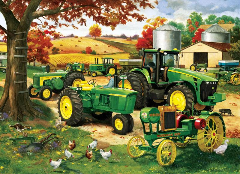 John Deere - Legacy of Deere Farm Jigsaw Puzzle
