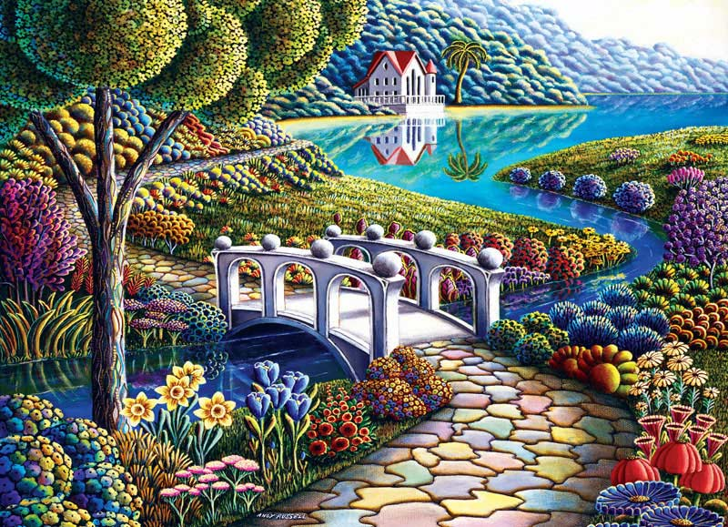Wonderland - Daffodils Spring Jigsaw Puzzle