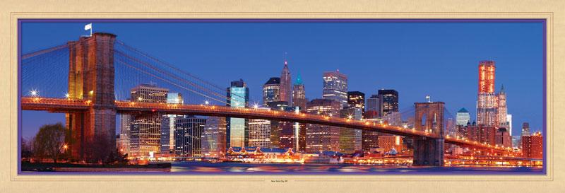New York City, NY Bridges Jigsaw Puzzle