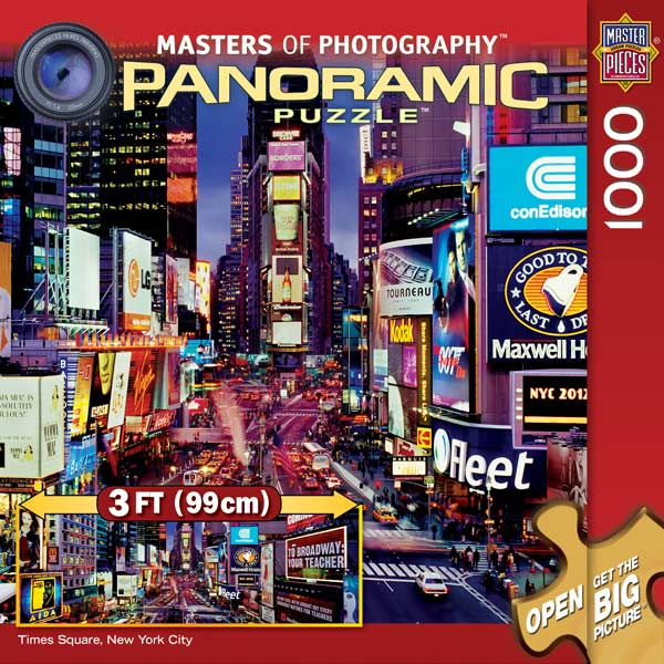 Times Square Cities Jigsaw Puzzle