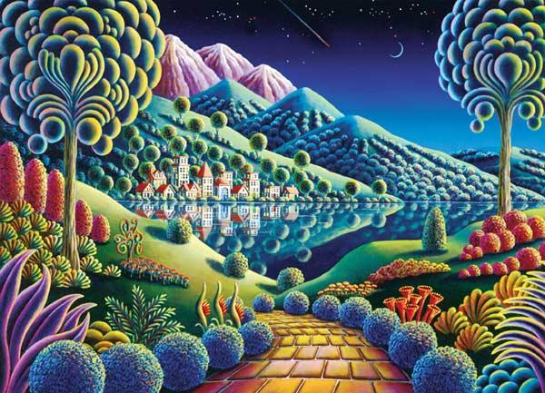 Wonderland - Hidden Lake Fantasy Jigsaw Puzzle