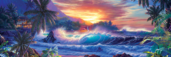 Window to Eternity Marine Life Jigsaw Puzzle