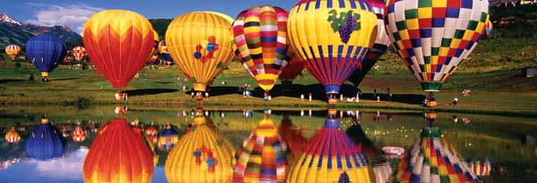 Taking Flight Balloons Jigsaw Puzzle