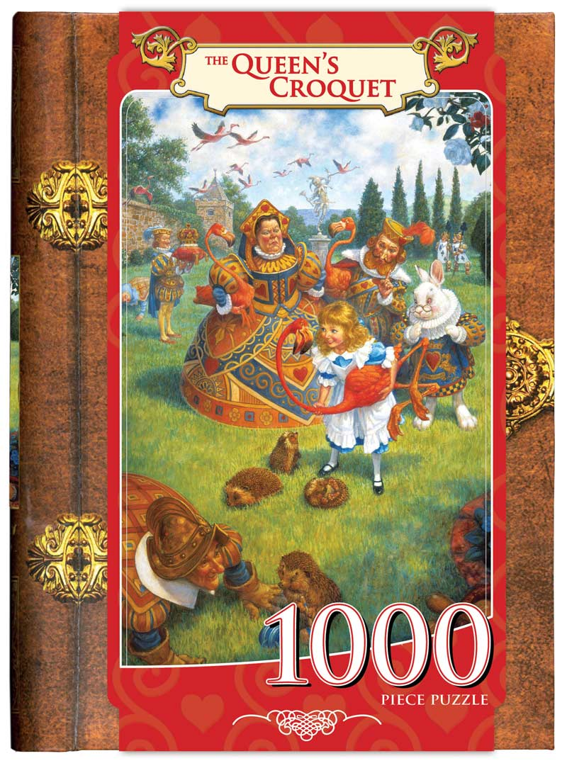 Classic Books - The Queens Croquet Fantasy Jigsaw Puzzle