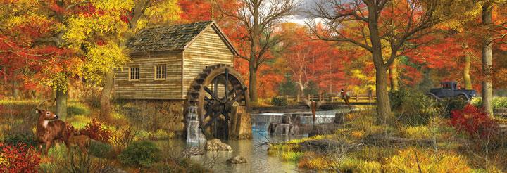 Autumn Peace Countryside Jigsaw Puzzle