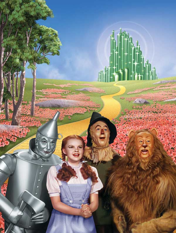 Classic Books - Wizard of Oz Nostalgic / Retro Collectible Packaging