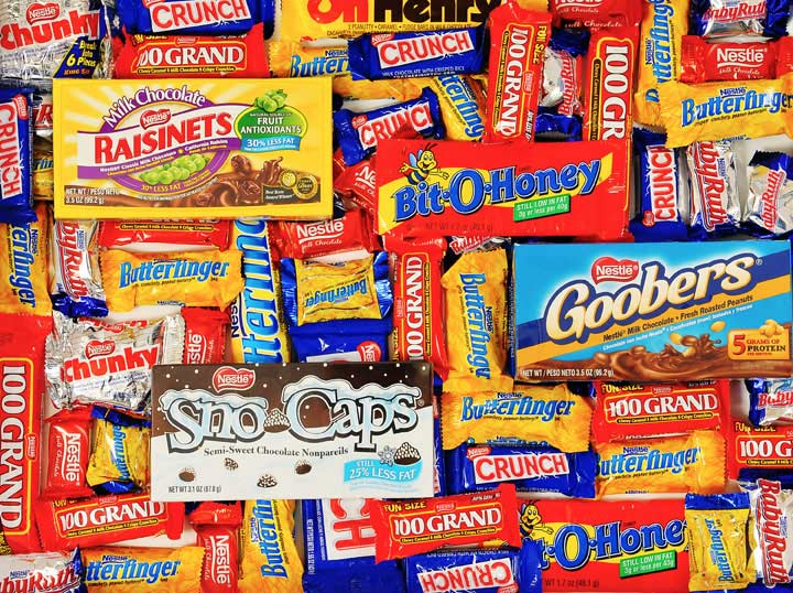 Candy Brands - Nestle Chocolates Food and Drink Jigsaw Puzzle