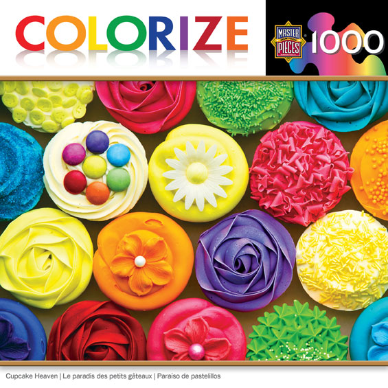 Colorize! - Cupcake Heaven Food and Drink Jigsaw Puzzle