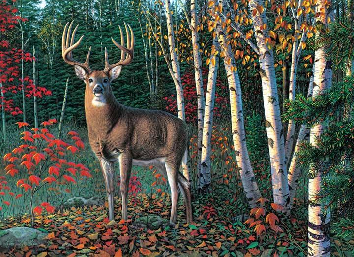 Autumn Sentinel Fall Jigsaw Puzzle