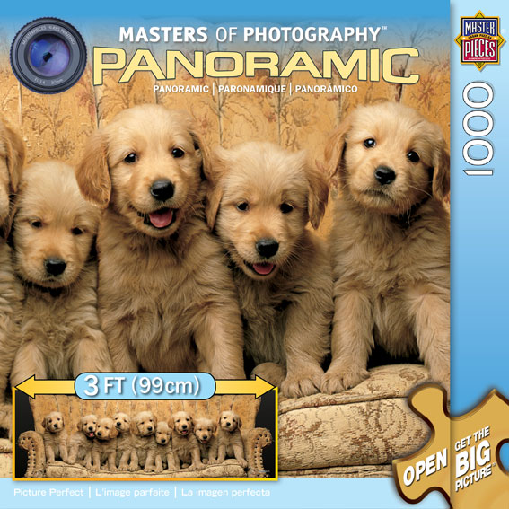 Picture Perfect (Masters of Photography-Panoramic) Dogs Jigsaw Puzzle
