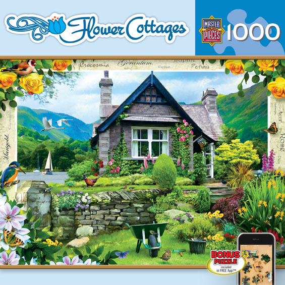 Lakeland Cottage - Scratch and Dent Garden Jigsaw Puzzle