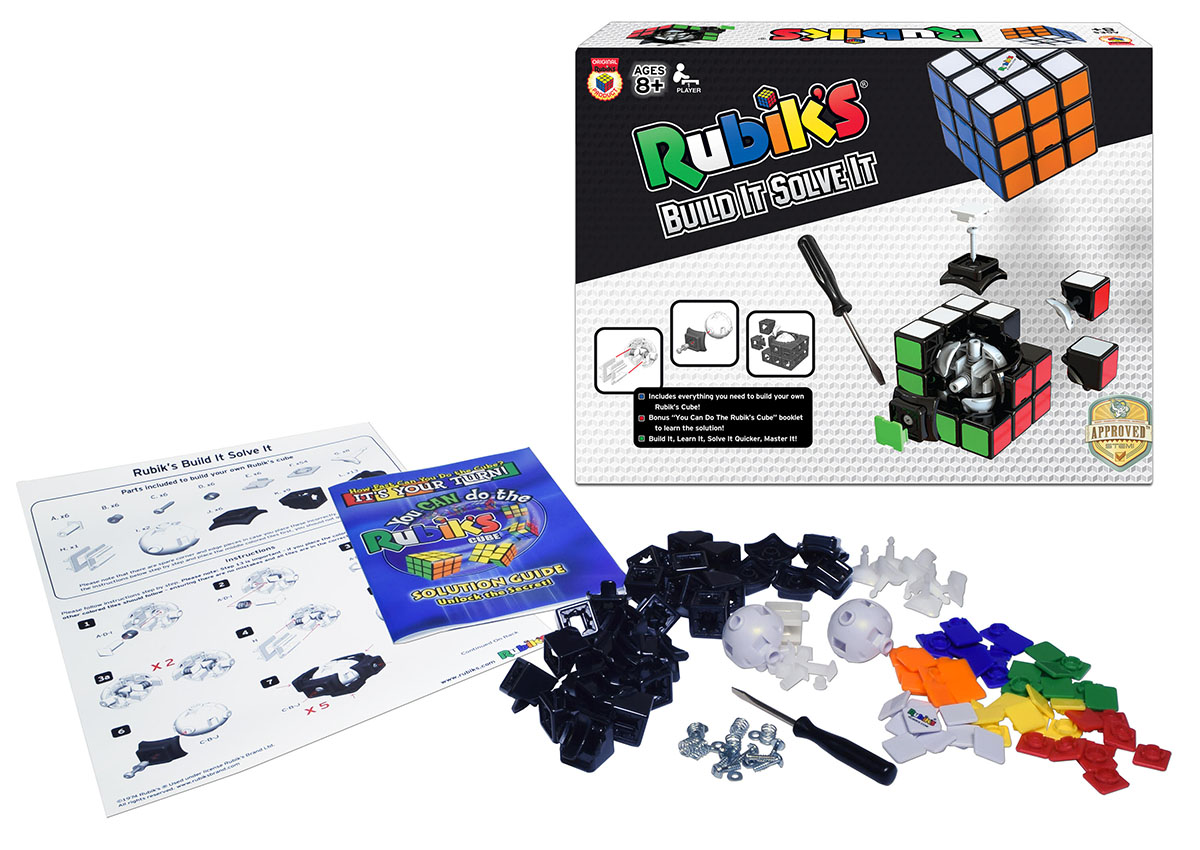 Rubik's Build It Solve It!