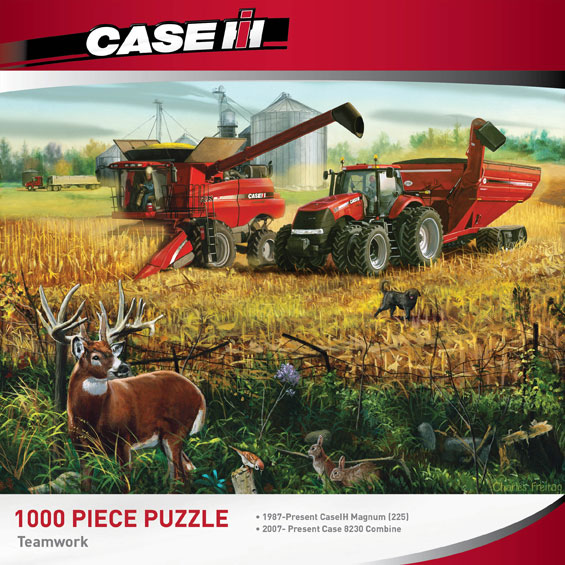 Teamwork Farm Jigsaw Puzzle