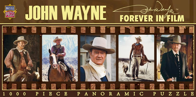 John Wayne - Forever in Film Famous People Jigsaw Puzzle