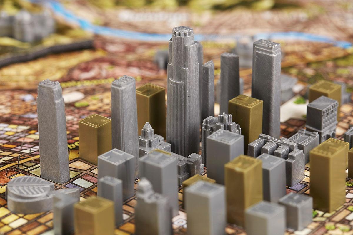 Los Angeles Landmarks / Monuments Jigsaw Puzzle