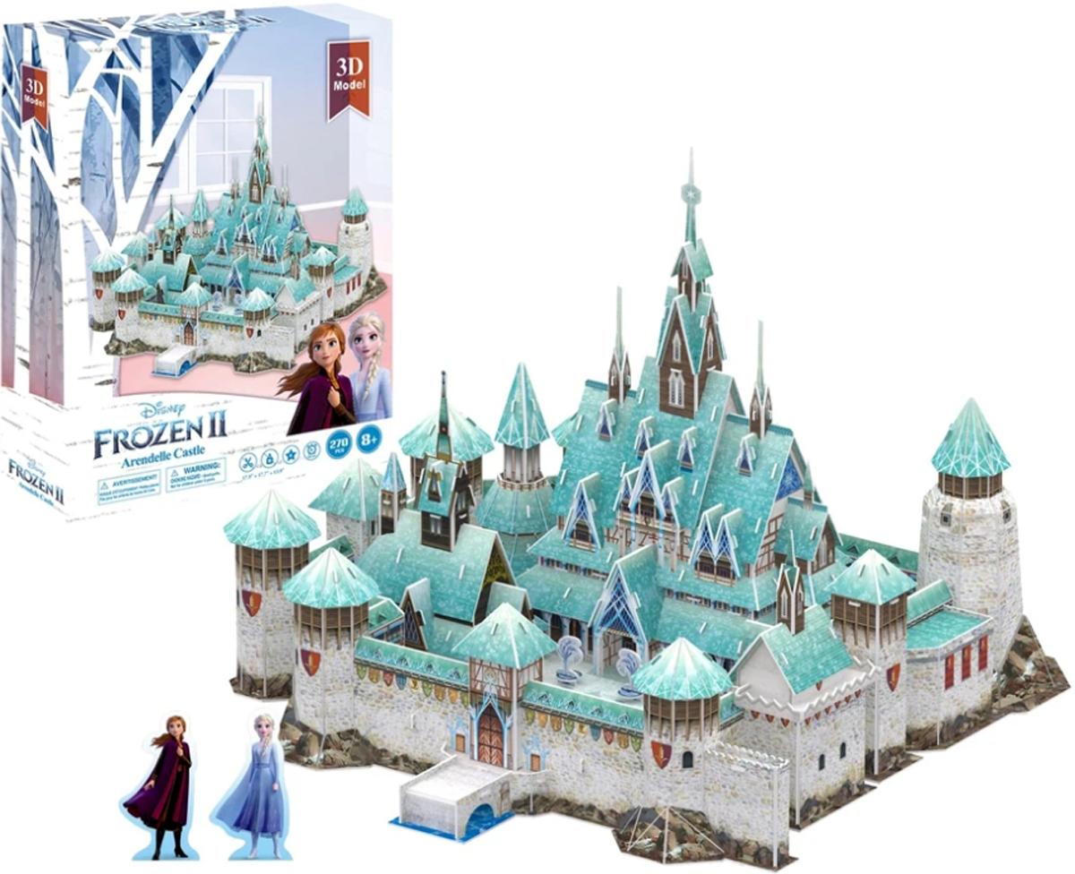 Disney Frozen Arendelle Castle  Paper Puzzle Disney 3D Puzzle