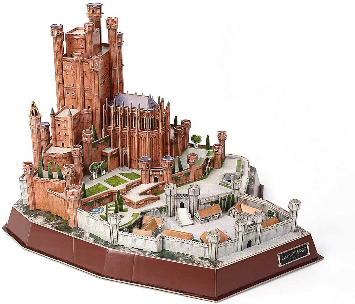 3D Game of Thrones: Red Keep Castles Jigsaw Puzzle
