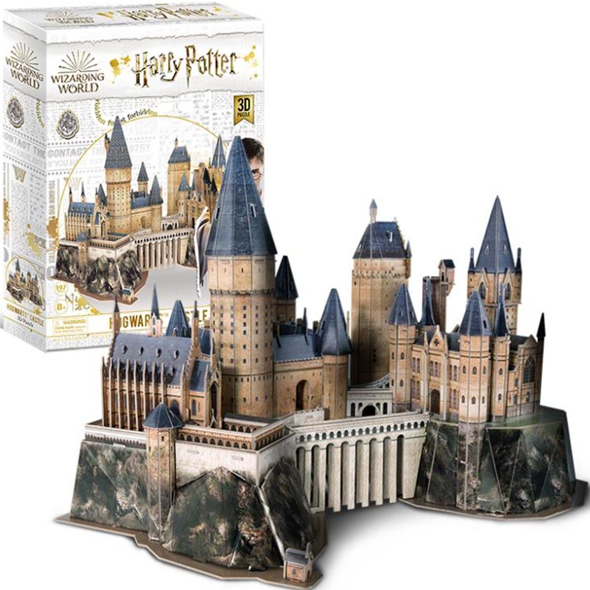 Hogwarts Castle Medium Size Set Castles 4D Puzzle
