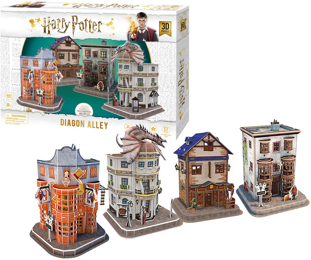 Harry Potter Diagon Alley Paper Puzzle Movies / Books / TV 3D Puzzle