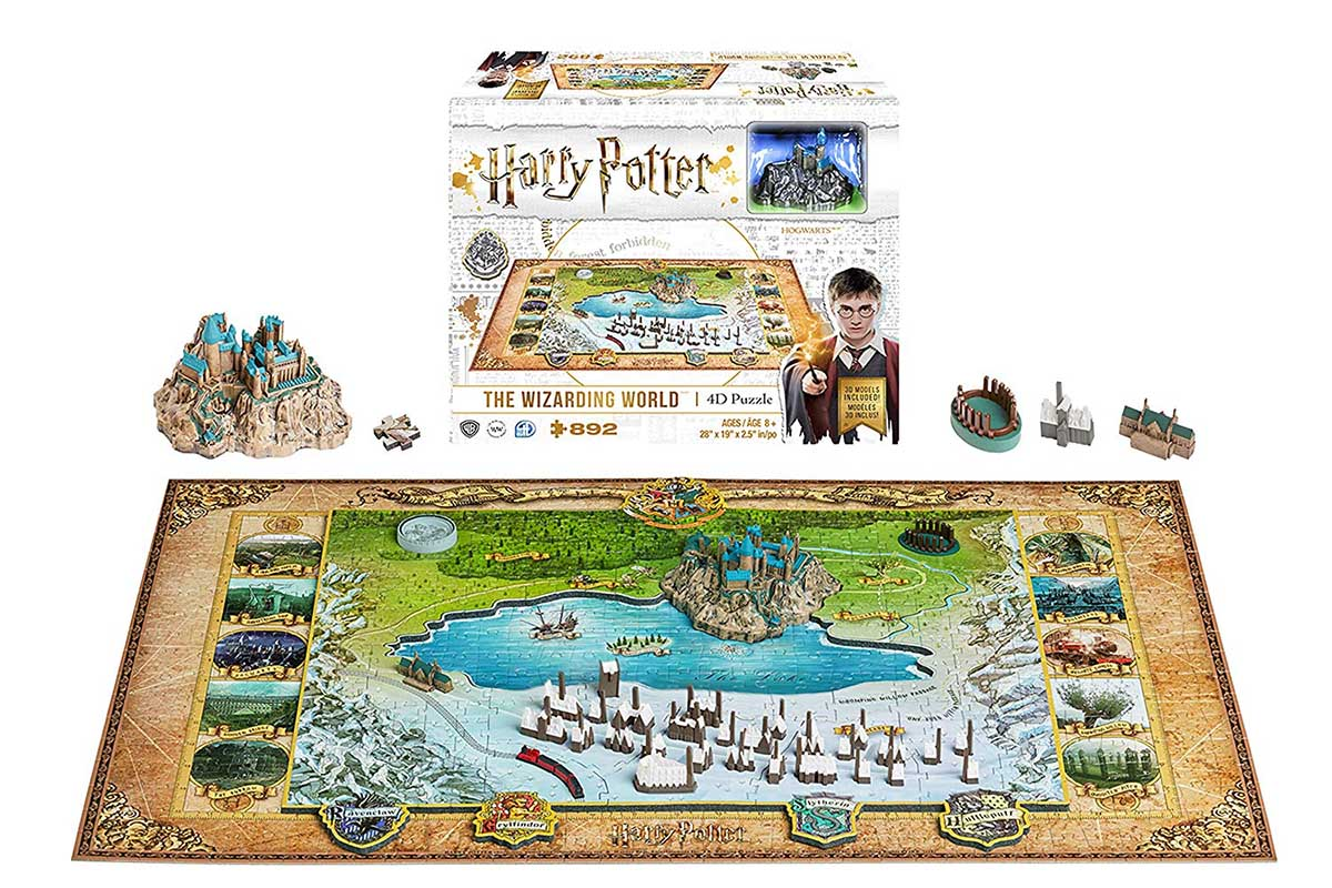 4D Harry Potter Harry Potter 4D Puzzle