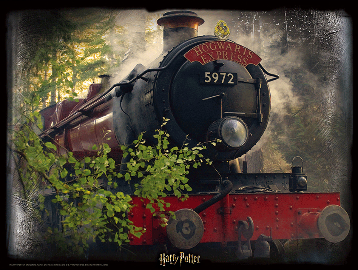 Lenticular Harry Potter Hogwarts Express Movies / Books / TV Jigsaw Puzzle