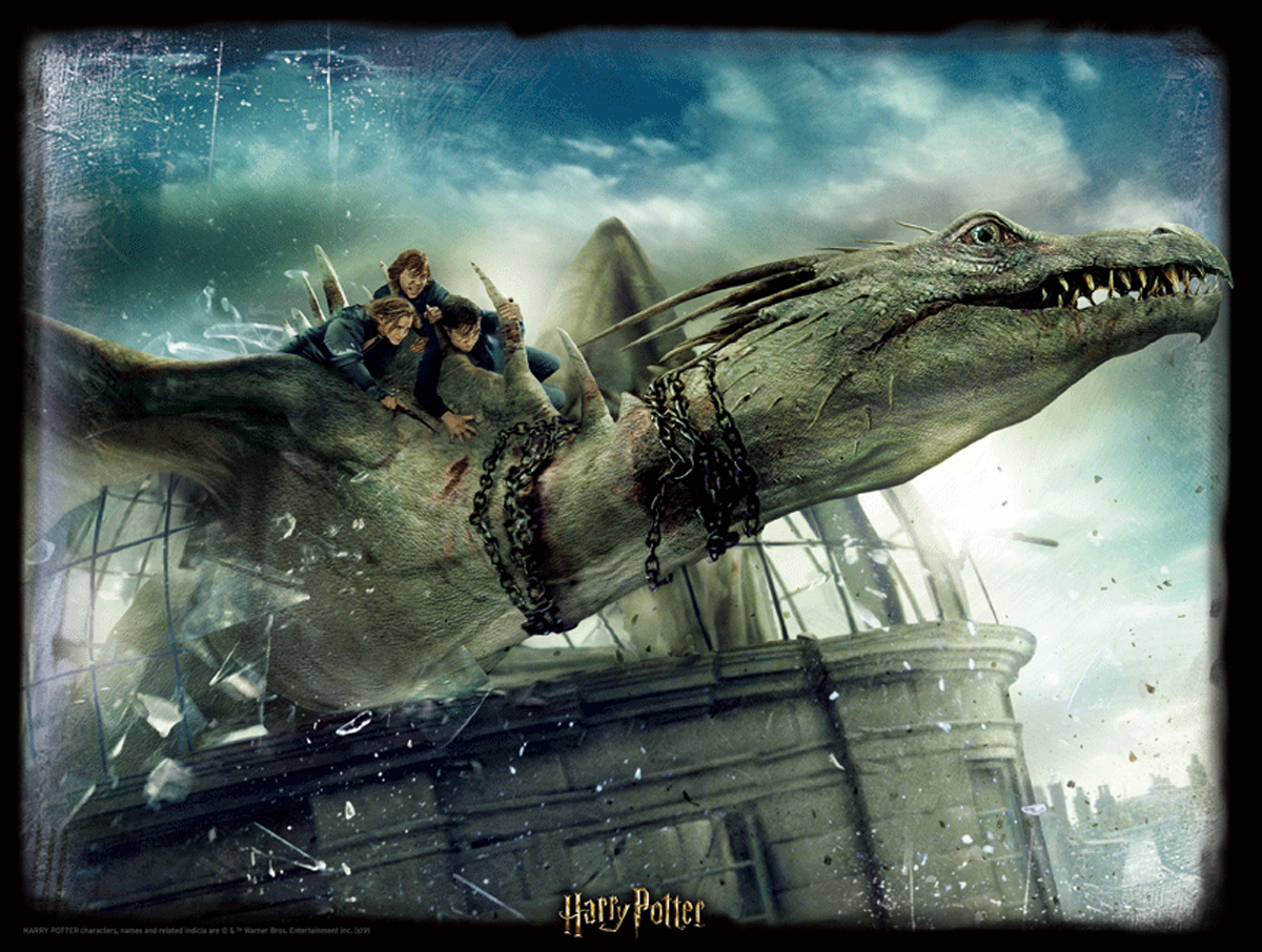 Lenticular Harry Potter Dragon Movies / Books / TV Jigsaw Puzzle
