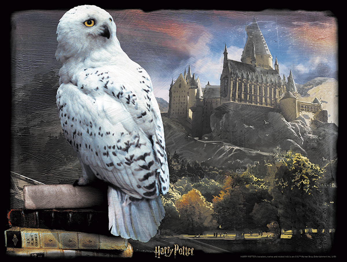 Lenticular Harry Potter Hedwig Movies / Books / TV Jigsaw Puzzle