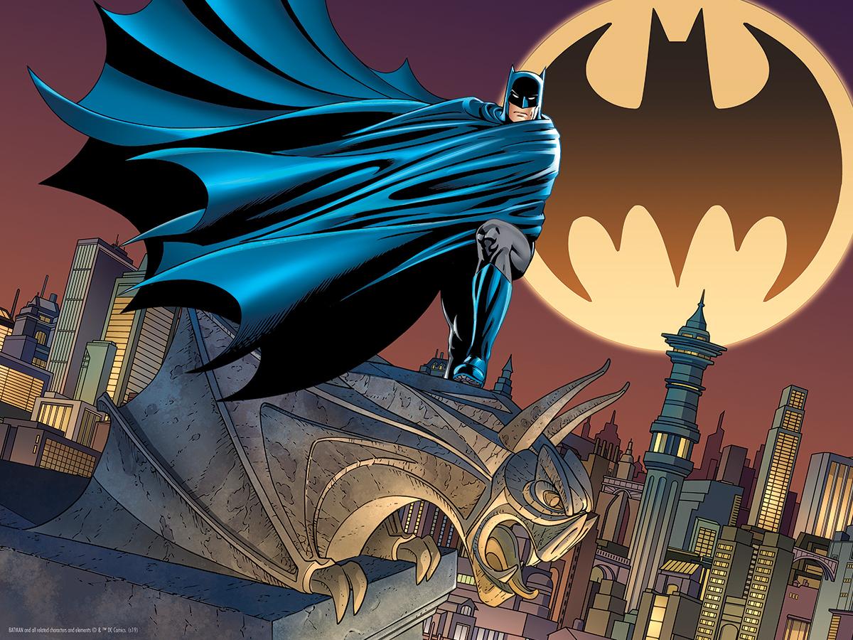 Lenticular Bat Signal Movies / Books / TV Jigsaw Puzzle