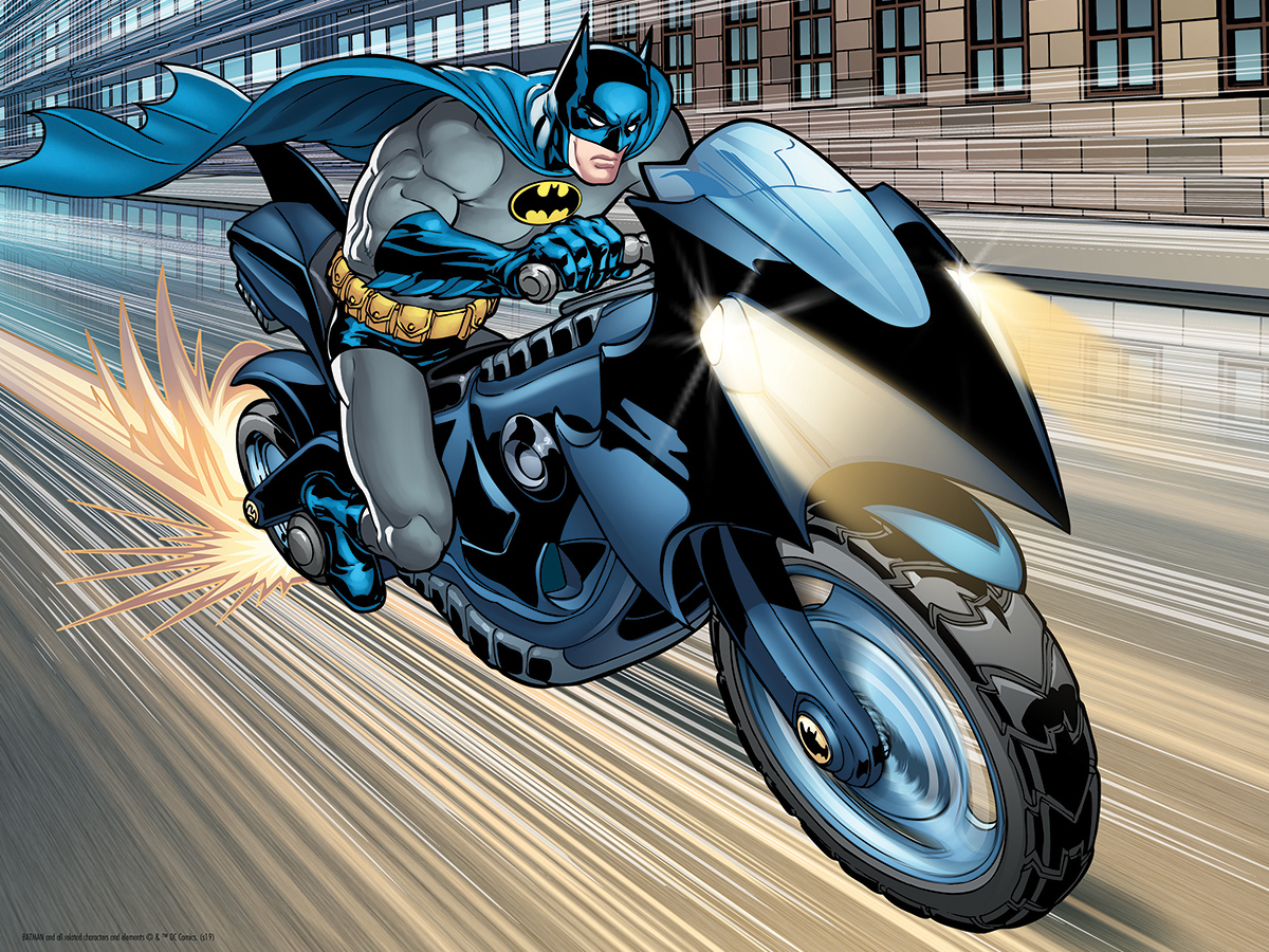 Lenticular Batmobile Movies / Books / TV Jigsaw Puzzle