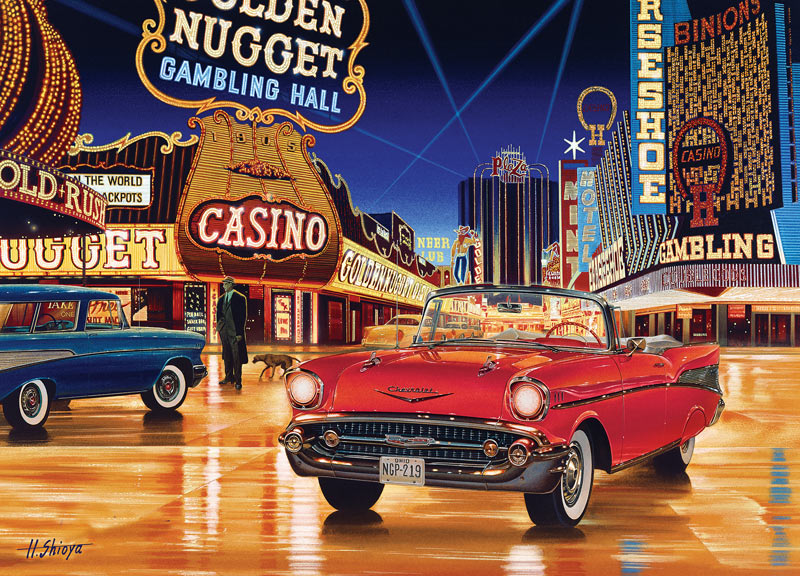 Gamblin' Man Cars Jigsaw Puzzle