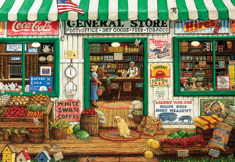 General Store - Scratch and Dent Nostalgic / Retro Jigsaw Puzzle