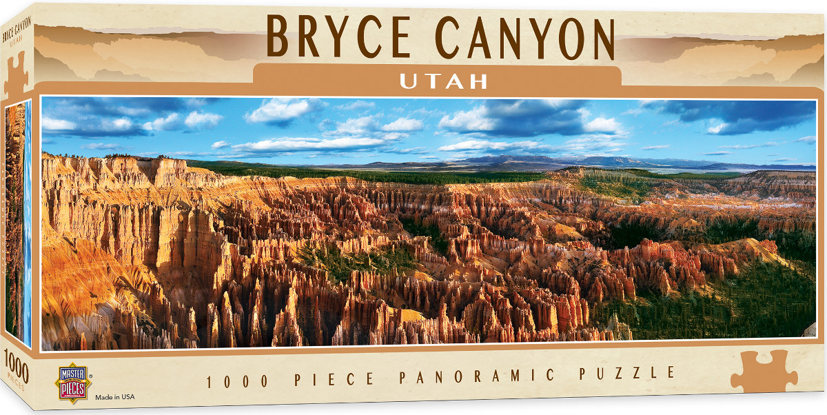 Bryce Canyon Landmarks / Monuments Jigsaw Puzzle