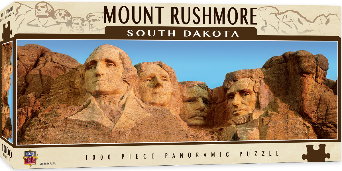 Mount Rushmore - Scratch and Dent Mountains Jigsaw Puzzle