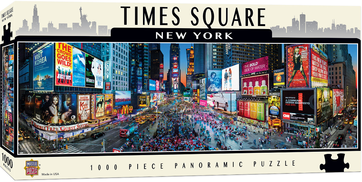 Times Square Landmarks / Monuments Jigsaw Puzzle