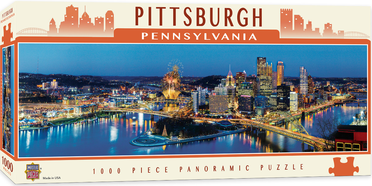 Pittsburgh Skyline / Cityscape Jigsaw Puzzle