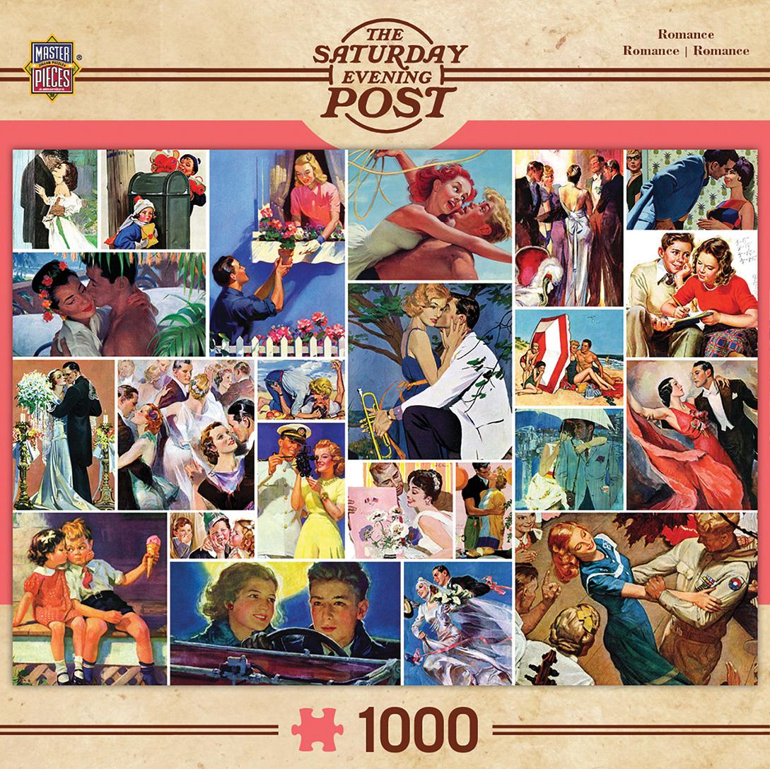 Romance Collage Nostalgic / Retro Jigsaw Puzzle